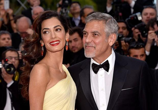 George e Amal Clooney (Foto: Clemens Bilan/Getty Images)