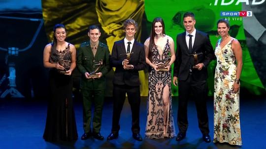 Confira quem levou os prêmios de melhores atletas nas novas modalidades olímpicas
