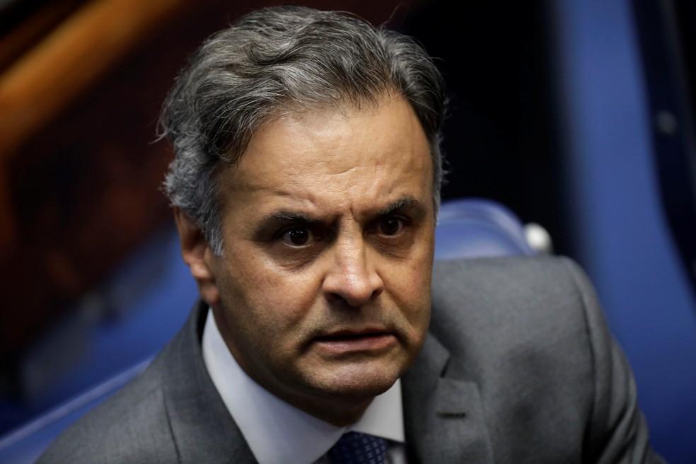 O senador Aécio Neves (PSDB-MG) (Foto: Ueslei Marcelino/Reuters)