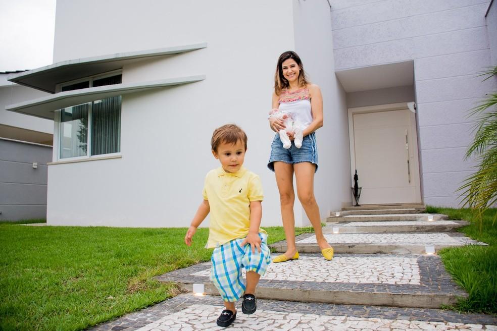 Juíza em Porto Velho, Tânia Guirro adotou casal de irmãos.  — Foto: Arquivo Pessoal/Tânia Guirro