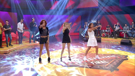 Time feminino do 'Desafiados' faz performance das Spice Girls