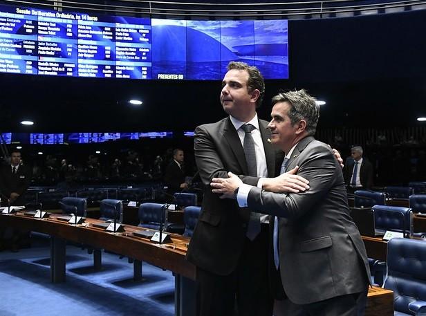 Ciro Nogueira e Rodrigo Pacheco