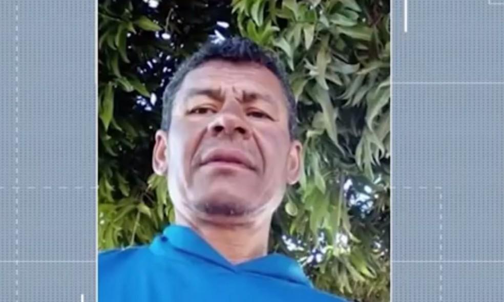 Bartolomeu Mariano Bento foi o último a ter o corpo encontrado  — Foto: Reprodução/TV Oeste