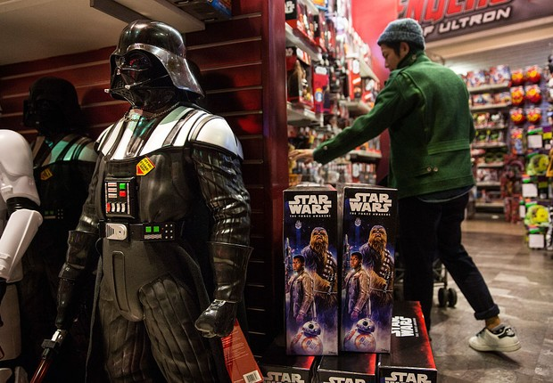 Geek - nerd - Star Wars - cultura geek - fãs - quadrinhos -  (Foto:  Andrew Burton/Getty Images)