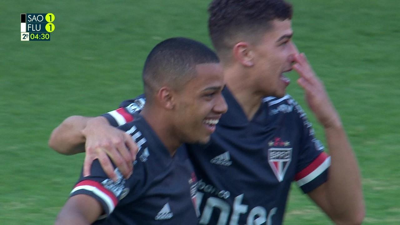 Melhores momentos: São Paulo 3 x 1 Fluminense pela 8ª rodada do Brasileirão 2020