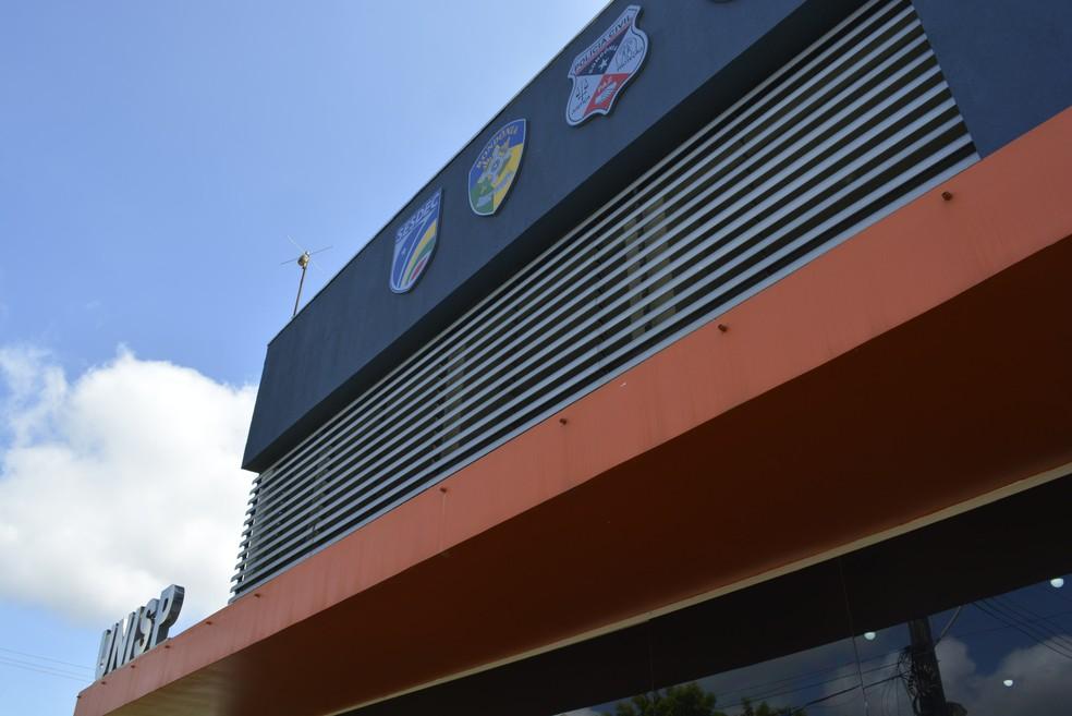 -  Caso foi registrado na Unisp de Nova Brasilândia D  39;Oeste  Foto: Diêgo Holanda/G1