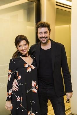 Tatá Lopes e Pedroca Monteiro