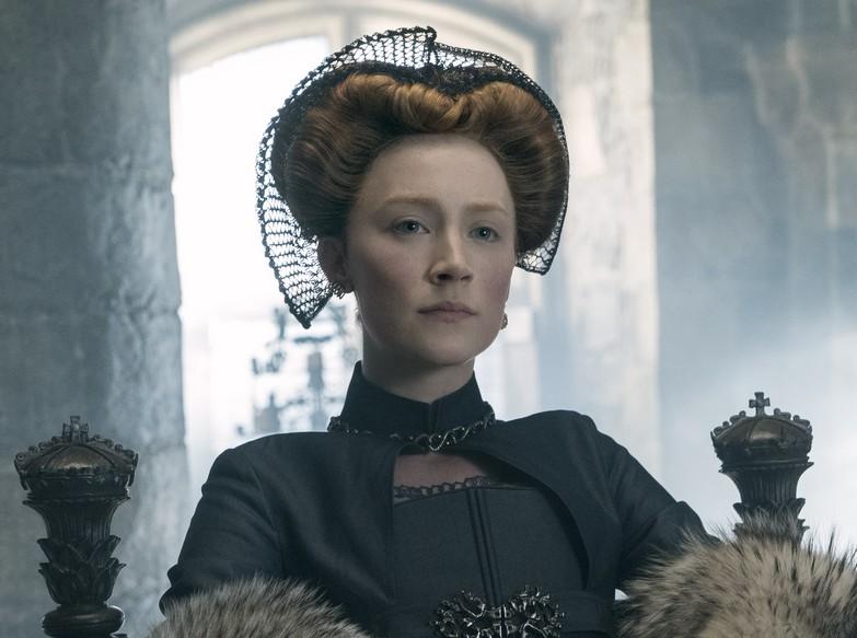 A atriz Saoirse Ronan em cena do drama de época Duas Rainhas (2018) (Foto: Reprodução)