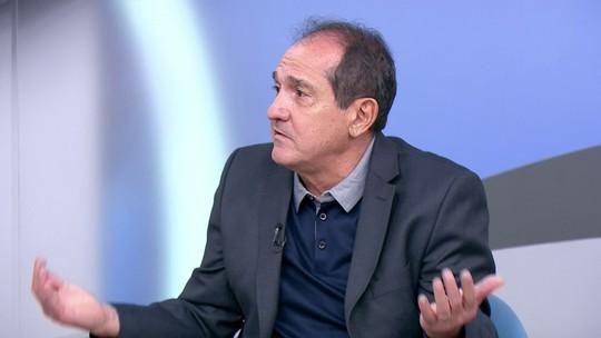 """Muricy critica futebol defensivo """"moderno"""" no Brasil, e PCV cita Guardiola: """"Ganhou de 3 a 0 e, não satisfeito, suspendeu a folga"""""""