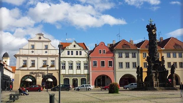Cidade de Zatec, República Tcheca (Foto: Pixabay)
