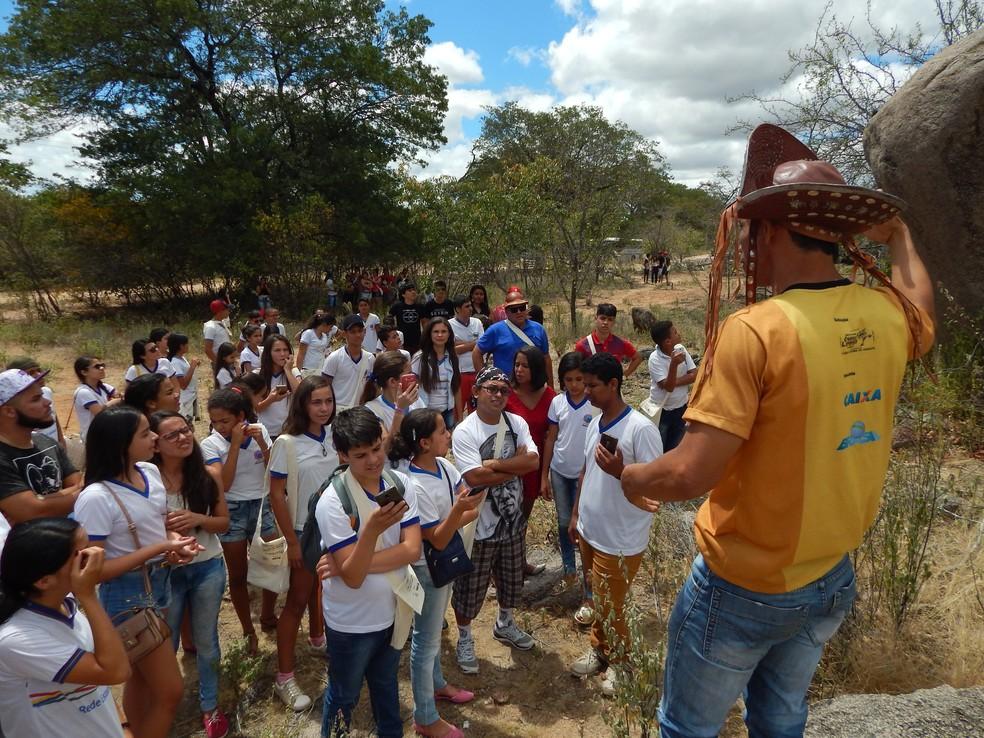 Casa onde nasceu Lampião será visitada por alunos  (Foto: Divulgação/Assessoria )