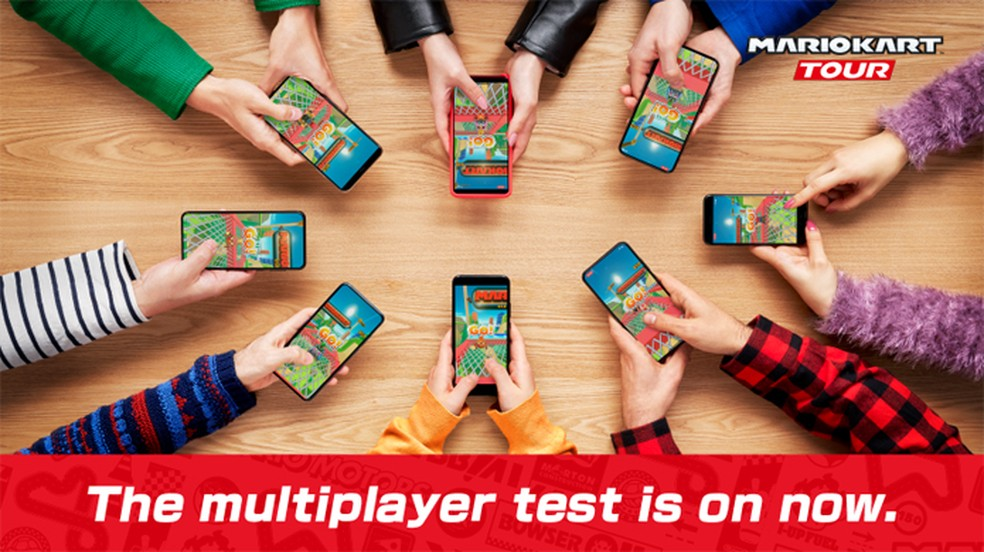 Mario Kart Tour abre fase de testes multiplayer liberada para todos os jogadores no Android e iOS — Foto: Reprodução/Mario Kart Tour