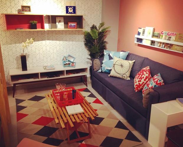 Sofá-cama da loja virtual da Oppa (Foto: Divulgação)