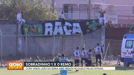 Sobradinho vence o Remo pelas oitavas de final da Copa Verde