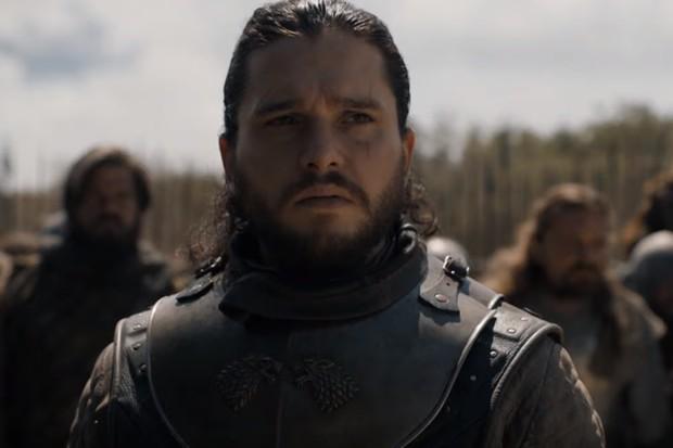 Cena do trailer do penúltimo episódio de Game of Thrones (Foto: Reprodução YouTube)