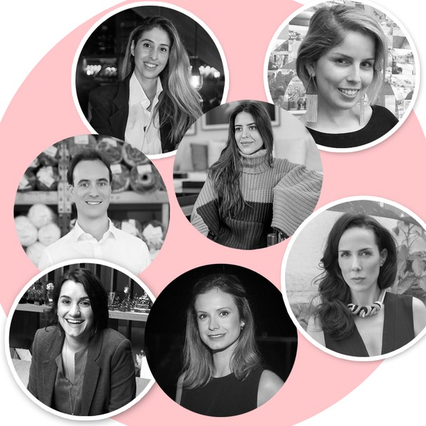 Palestrantes confirmados no curso de Marketing Digital da Glamour Brasil com a ESPM (Foto: Divulgação)