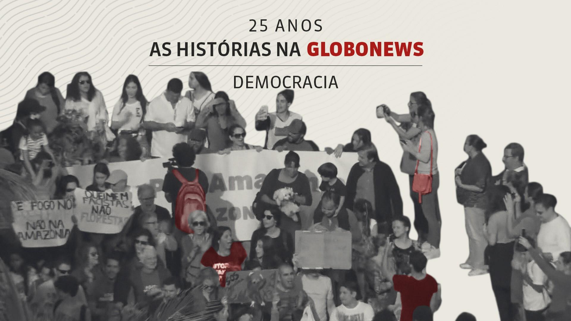 As Histórias na GloboNews #8:  democracia (partes 1 e 2)