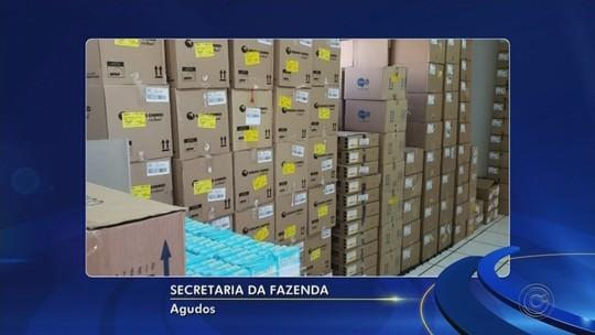 Prejuízo com sonegação de ICMS de medicamentos passa de R$ 1 milhão na região de Bauru, diz Fazenda