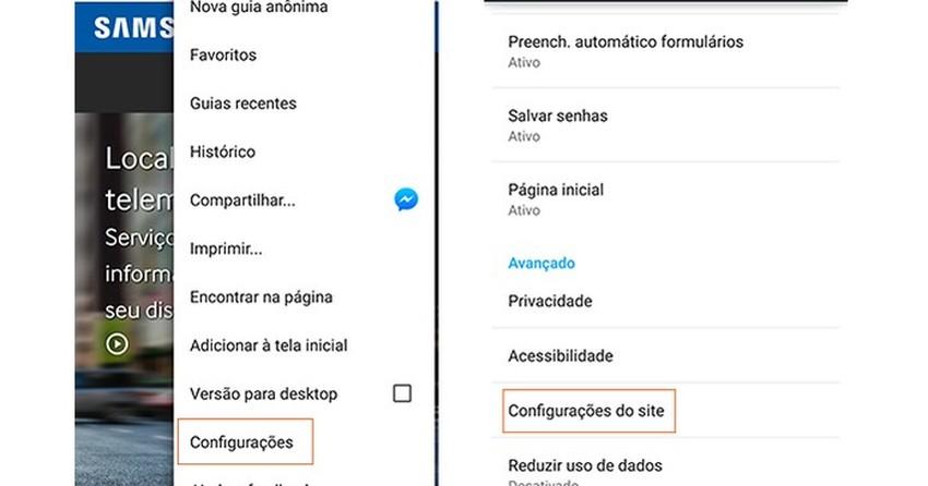 12f11f8ed Como bloquear pop-up no Google Chrome e Safari pelo celular