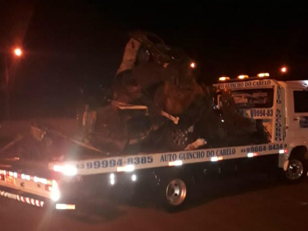 Homem morreu em acidente na PR-445 (Foto: Sebastião Cardoso/Arquivo pessoal)