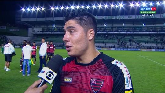 """Bruno Lopes fala sobre melhora do Oeste no 2º tempo: """"Bronca do Cavalo foi grande"""""""