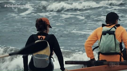 No Eu Atleta Verão, uma aventura de canoa havaiana até um sítio histórico