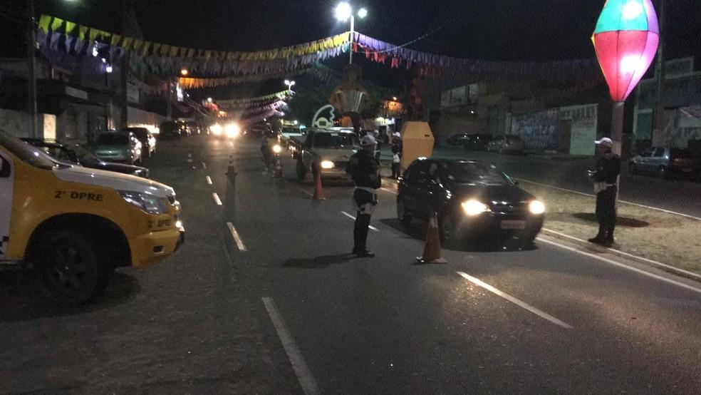 PM prendeu em flagrante motorista bêbado que atropelou homem em Assu, RN. — Foto: PM/Divulgação
