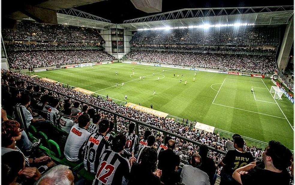 Final do Campeonato Mineiro acontece no Estádio Independência — Foto: Bruno Cantini/Site Oficial do Atlético-MG