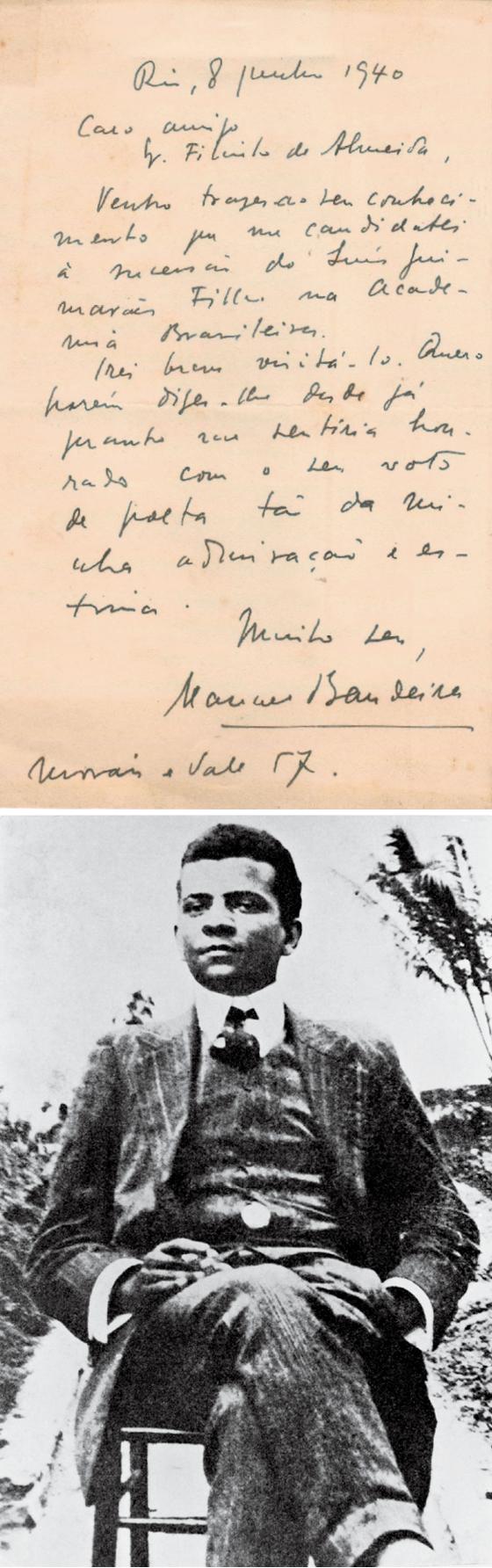 Em 1917, Lima Barreto enviou uma carta a Rui Barbosa anunciando sua candidatura, que foi recusada (Foto: Arquivo/Agência Estado | Divulgação | Arquivo/Agência Estado)