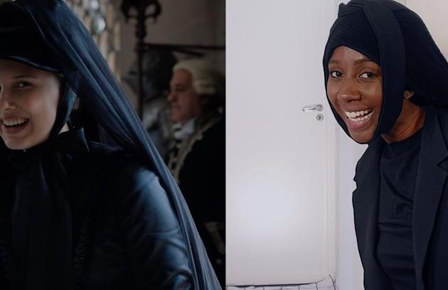 """No ano passado, Camilla de Lucas interpretou personagens do filme """"Enola Holmes"""" ´para um anúncio da Netflix. Na ocasião, disse: """"Gente, meu momento atriz foi consolidado!"""" (Foto: Reprodução)"""