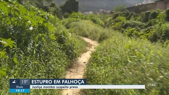 Justiça decreta prisão preventiva de suspeito de estuprar adolescente em Palhoça