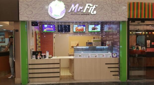 Unidade da Mr. Fit, fast-food de comida saudável (Foto: Divulgação)