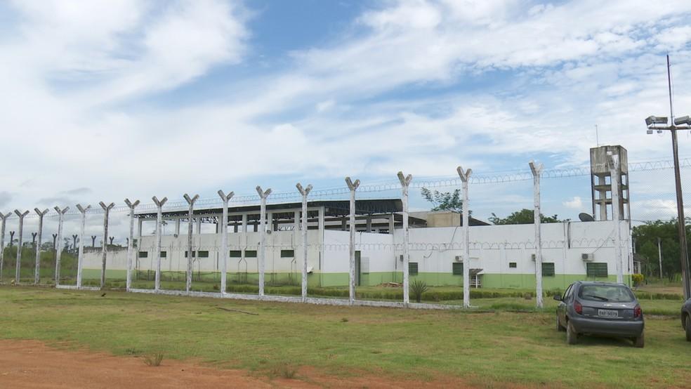 Centro de Ressocialização de Buritis possui 140 detentos, mas apenas 15 possuíam os pré-requisitos para trabalhar — Foto: Rede Amazônica/Reprodução