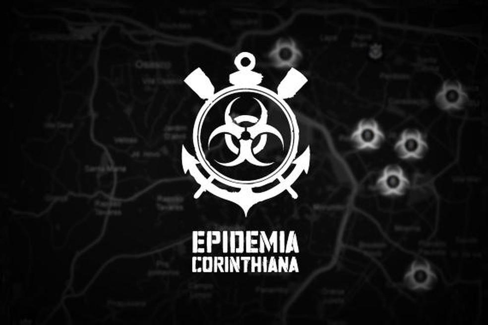 Campanha Epidemia Corinthiana foi lançada em 2012 — Foto: Divulgação