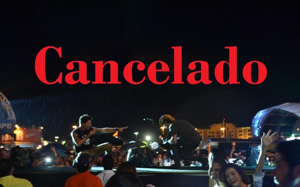 Seguro de Evento cobre despesas com cancelamento de shows (Foto: Anderson Barbosa/G1 SE)
