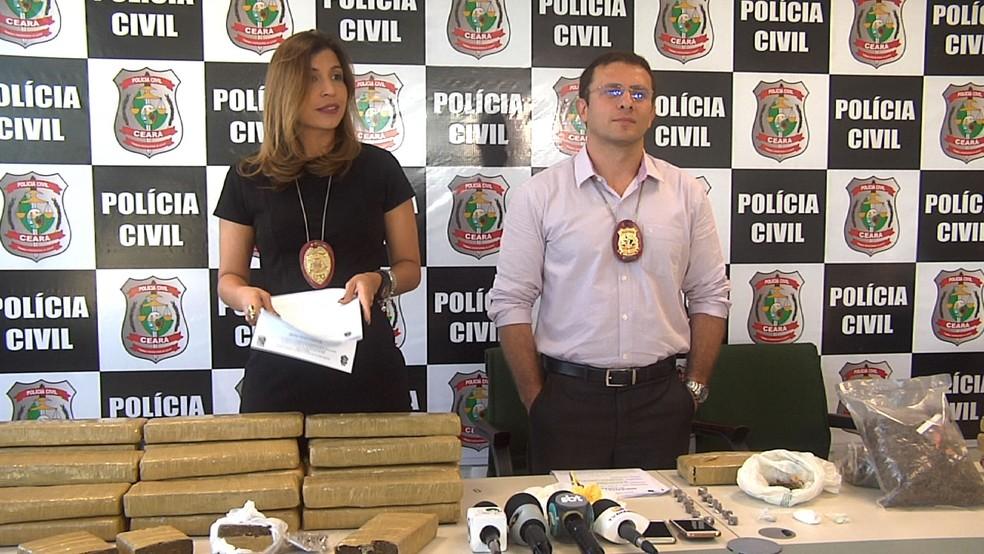 Operações policiais prenderam 17 suspeitos de tráfico em Fortaleza (Foto: TV Verdes Mares/Reprodução)