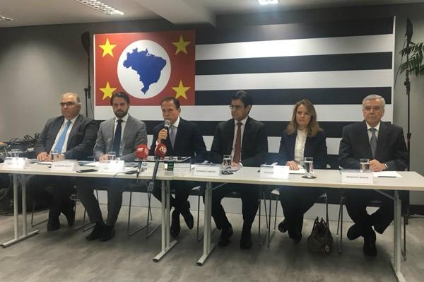 Doria anuncia presidentes da Cetesb e Sabesp e secretários de Logística e Transporte Metropolitanos
