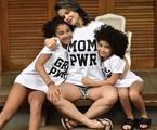 Samara Felippo e as filhas | Reprodução