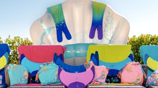 Produtos infantis da marca Mermaid Linden (Foto: Divulgação)