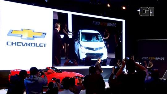 Elétrico Chevrolet Bolt começa a ser vendido no Brasil em outubro por R$ 175 mil