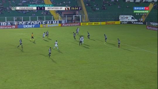 Figueirense 2 x 1 Botafogo-SP: assista aos melhores momentos do jogo