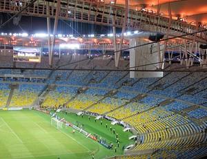 estádio maracanã botafogo e Atlético-mg copa do Brasil (Foto: André Casado)