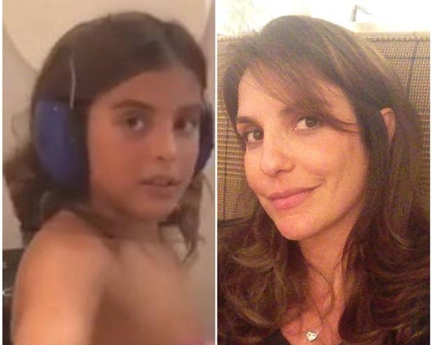 Marcelo e Ivete: semelhança entre mãe e filho chama atenção (Foto: Reprodução/Instagram)