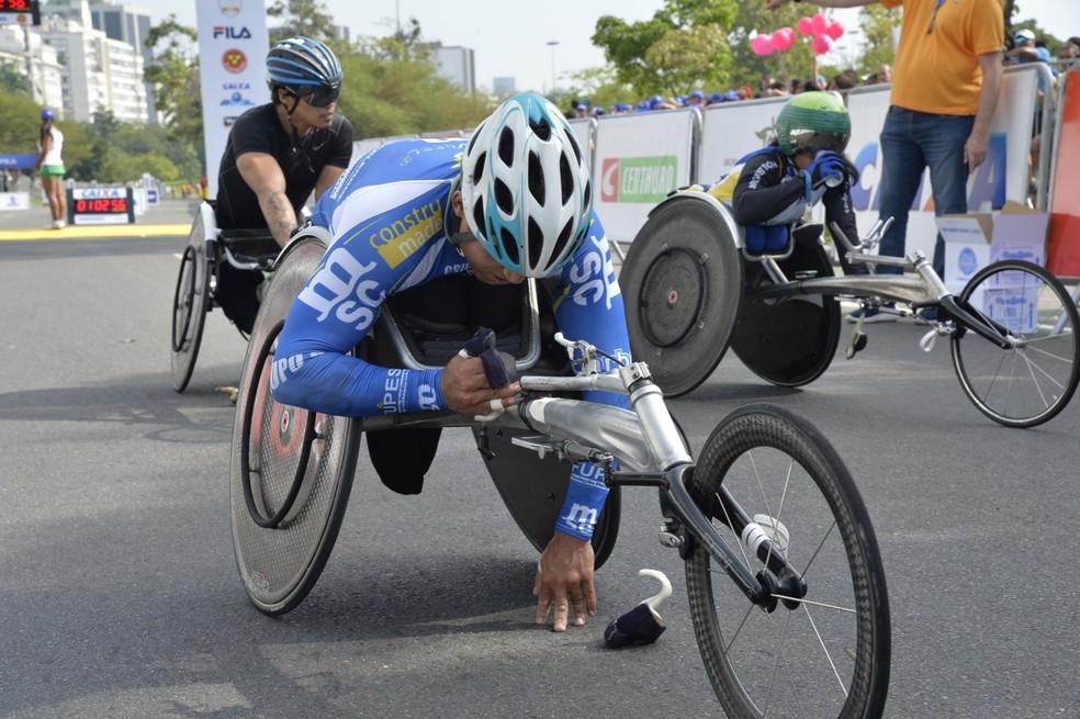 Heitor Mariano foi o segundo mais rápido entre os homens (Foto: Divulgação / Meia Maratona Internacional do Rio)