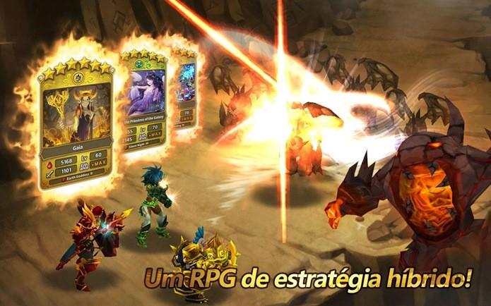 Ótimos gráficos e combates dinâmicos em um dos melhores RPGs para Android (Foto: Divulgação)