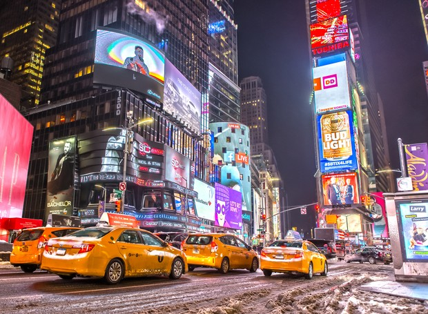 Times Square, em Nova York (Foto: Thinkstock)