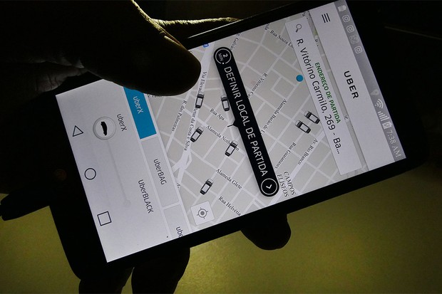 Aplicativo Uber (Foto: Filipe Araújo/Fotos Públicas)