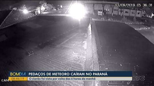 Fragmentos de meteoro visto por moradores caíram perto de Japurá, aponta análise do Observatório Nacional