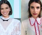 Bruna Marquezine e Emma Roberts | Pascal Le Segretain/Getty Images e Reprodução/Instagram