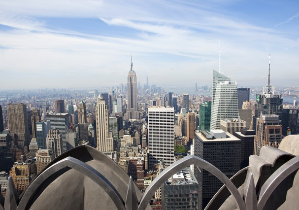 Top Of The Rock: vista imperdível (Foto: Marley White / NYC & Company)